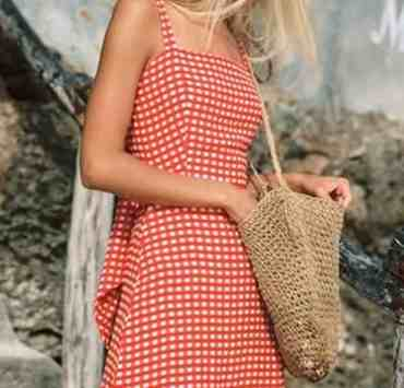 Pair these outfits with straw bags for a perfect accessory that will complete any look. Here are our favorite bags that you can buy this season!