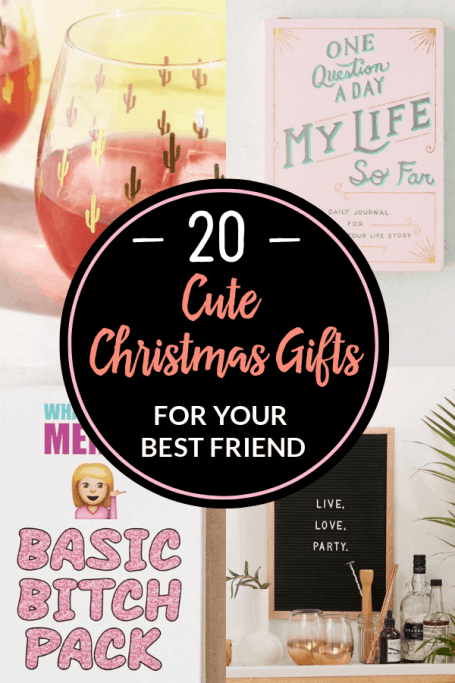 20 Christmas Gifts For Your Best Friend