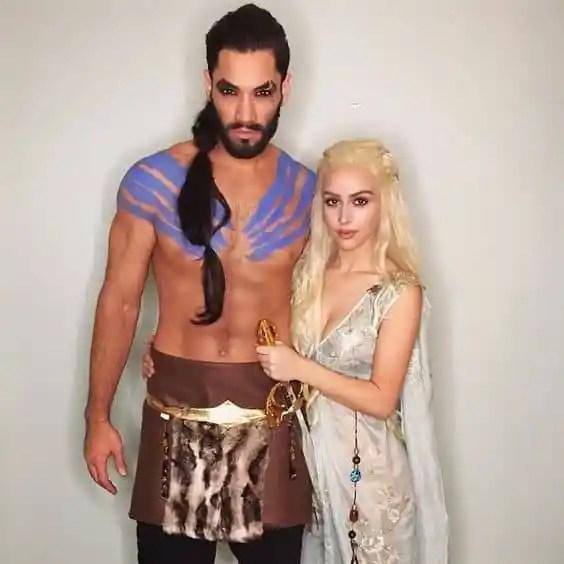 Daenerys Targaryen + Khal Drogo for Halloween