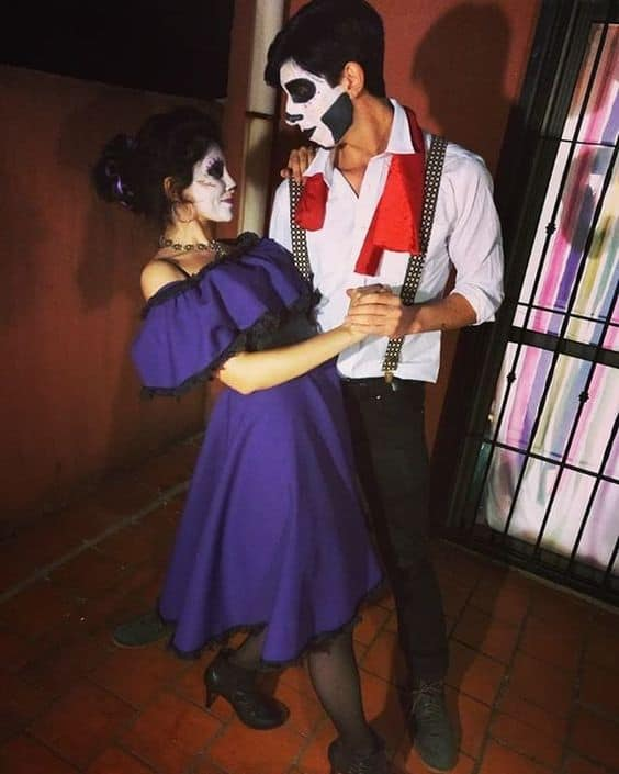 Hector and Imelda Costume from Coco