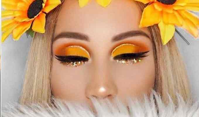 Here are some sparkly makeup products that you should try to get that shimmering look! These shadows can brighten up your normal makeup routine.