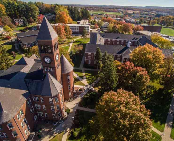 Slippery Rock University Of Pennsylvania gives its students a wide range of course options, so there's a lot to choose from. Here's some of the easiest.