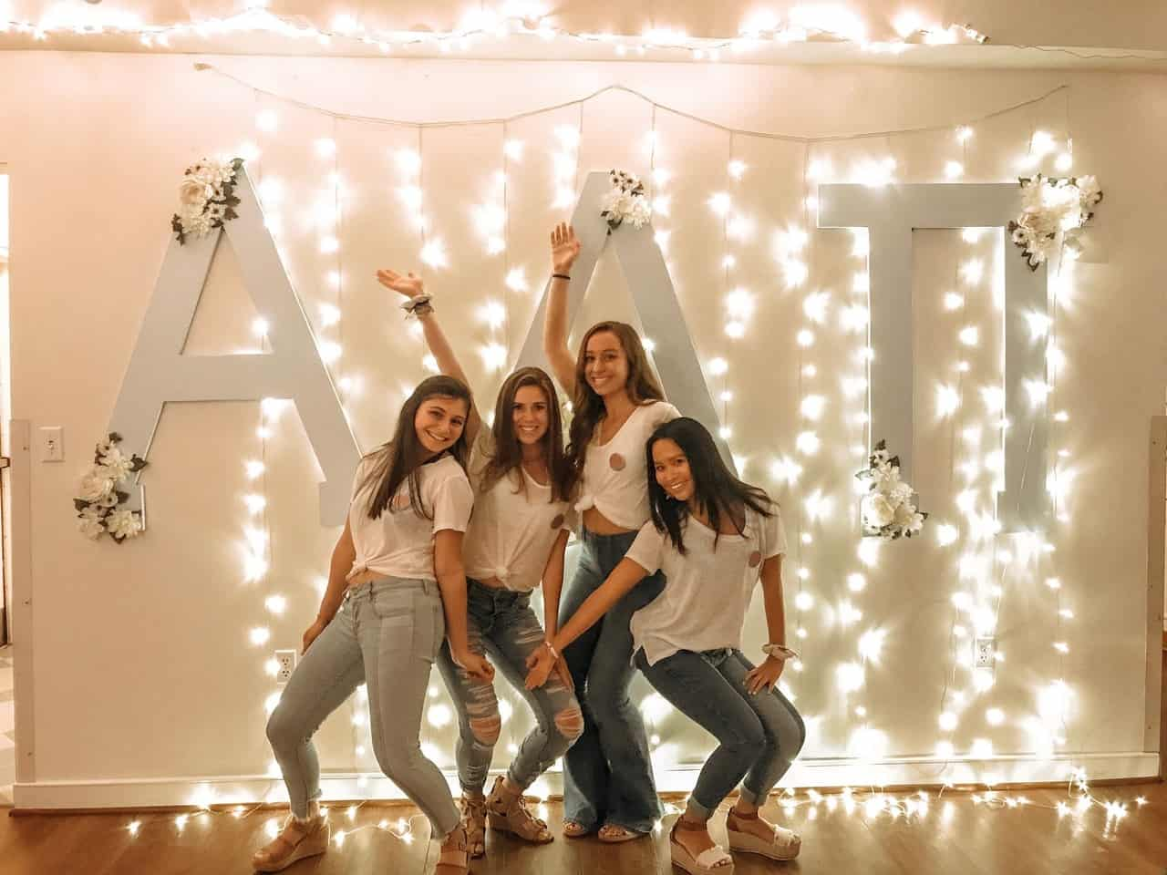 Here are the Signs That You Are a Member of the Sorority Alpha Delta Pi, Theta Delta chapter at the University of Delaware.