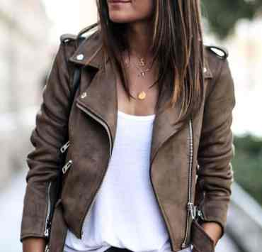 These leather jackets are going to have you looking sleek and fresh this fall! Here's a list of our favorite autumn leather jackets!