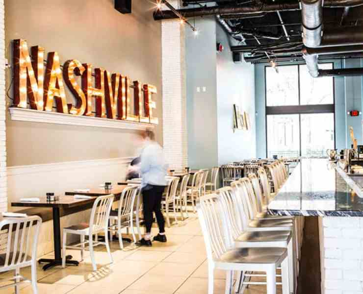Nashville has great places to eat that can be found around every corner! Here is a list of some of the best places to grab a bite in the city!