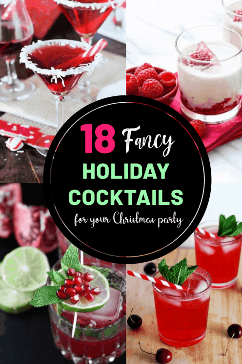 18 francy Christmas cocktail recipes