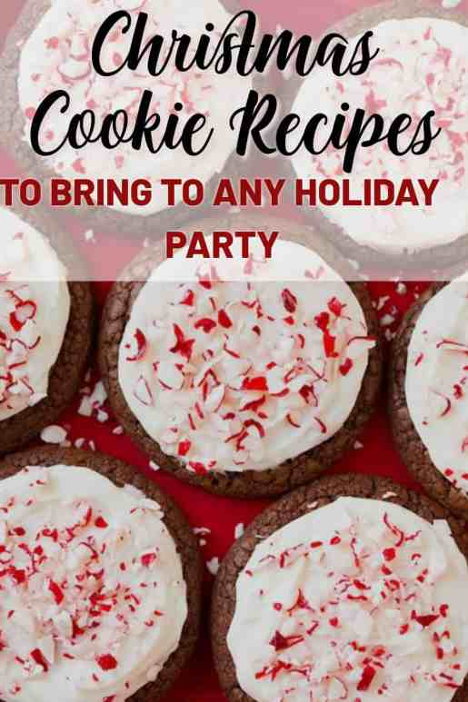 Christmas Cookie Recipes To Bring To Your Next Holiday Party