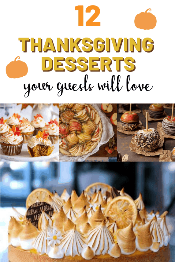 12 Thanksgiving Dessert Recipes Your Guests Will Be Thankful For