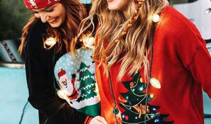 You'll love wearing these Christmas sweaters to any Christmas party you go to! Here is our list of the top holiday sweaters for you!