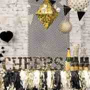 These New Years Eve theme party ideas range from black and white to hollywood, and even midnight brunch! There's no better way to celebrate the ball drop!