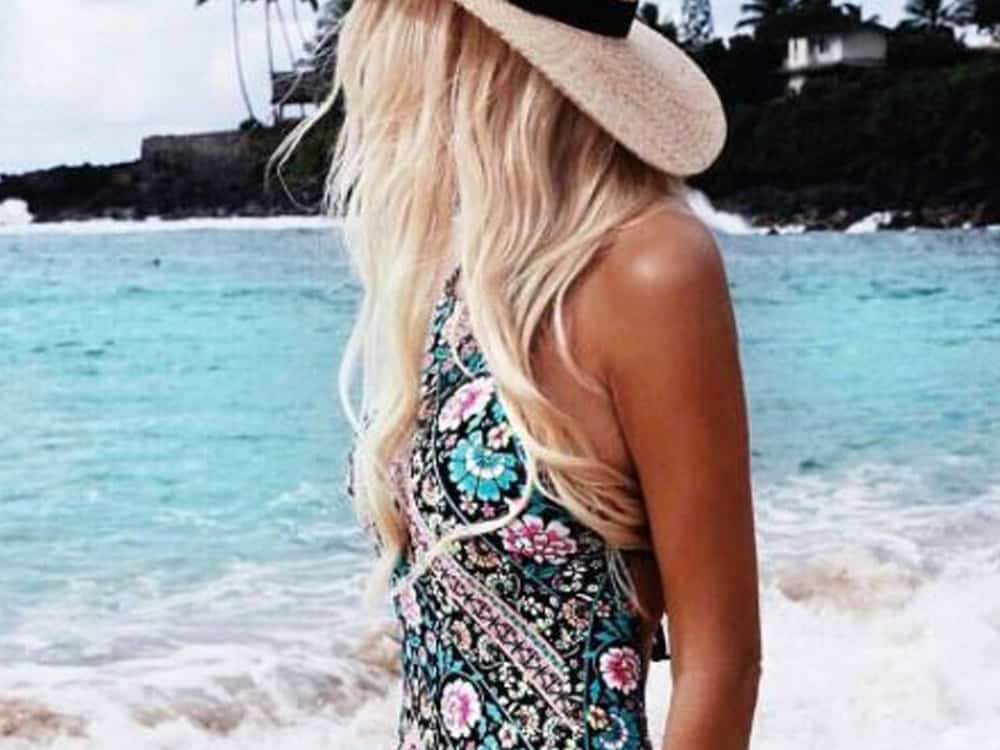 Don't be afraid to show off your curves this Spring Break with a cute one-piece bathing suit this beach season. Here are our faves!
