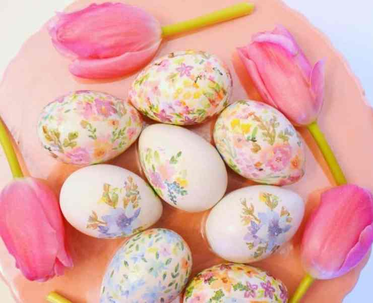 Forget about using plain old Easter egg dye this Easter. Try out an eggciting Easter egg dye design that's sure to help you hop into your Spring festivities.