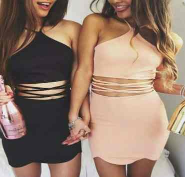 Make sure you are dressed to turn heads during your spring break. Try out these 12 tight dresses to make you feel like you own the night!