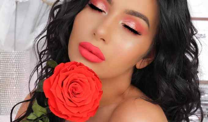 There are several red Valentine's Day makeup options that you can create this holiday season, we put together a list for you to try!