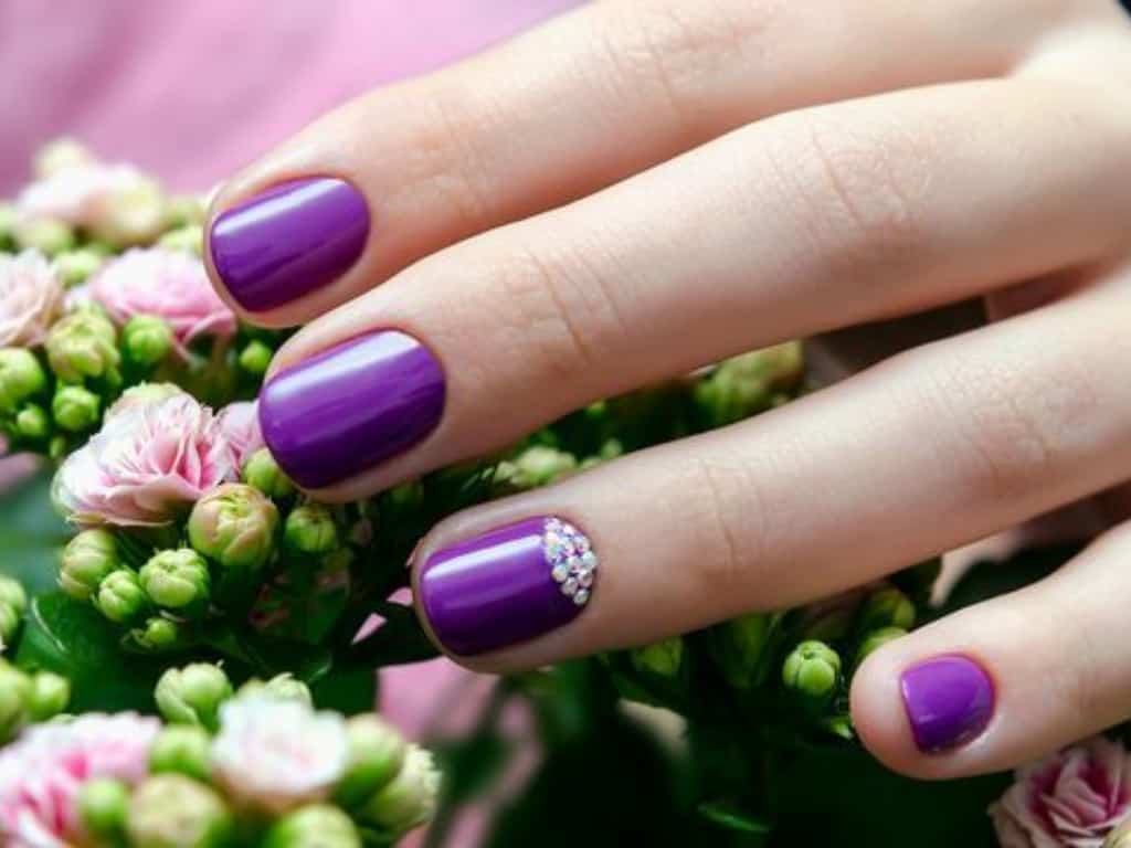Don't be afraid to incorporate some bright colors into your spring nail rotation. There are so many cute nail trends that will help bring in spring.