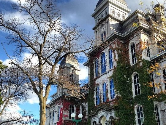 Between a wild sylly weeks and a campus that looks straight out of Harry Potter, Syracuse University has it all. Here's why you should choose to Go Orange!