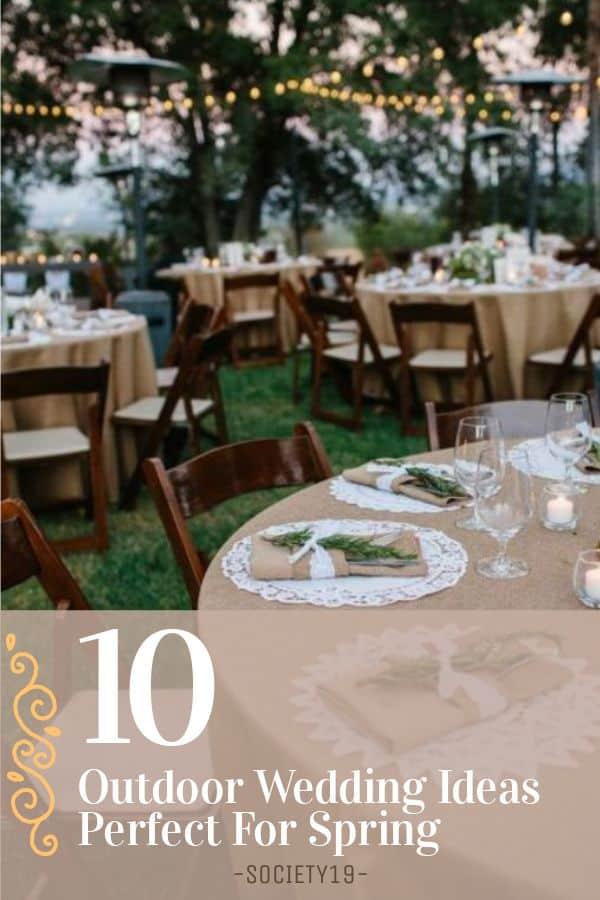 Outdoor Wedding Ideas, 10 Outdoor Wedding Ideas Perfect For Spring