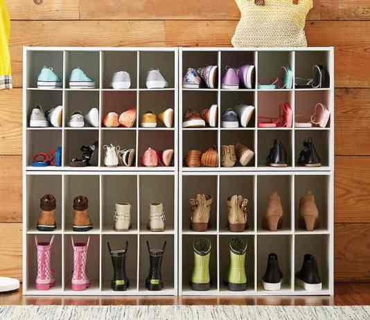 Shoe organizer ideas are the perfect thing to help tidy up your dorm this spring! Keep your shoes organized with these techniques!