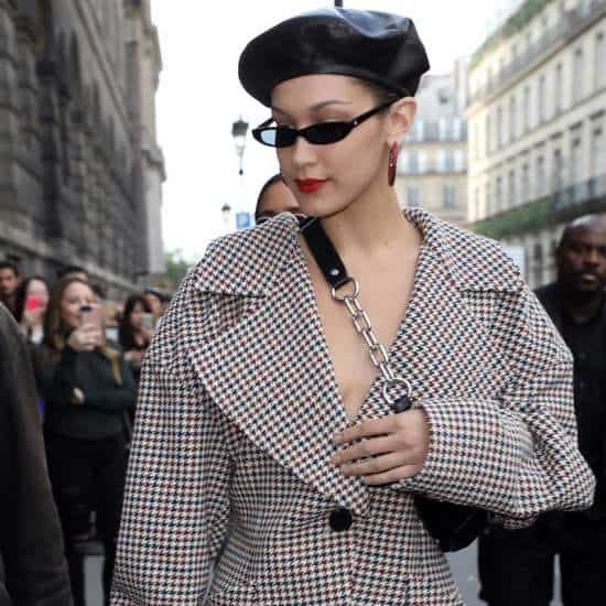 How To Properly Wear Those Tiny Sunglasses Celebs Are Obsessing Over