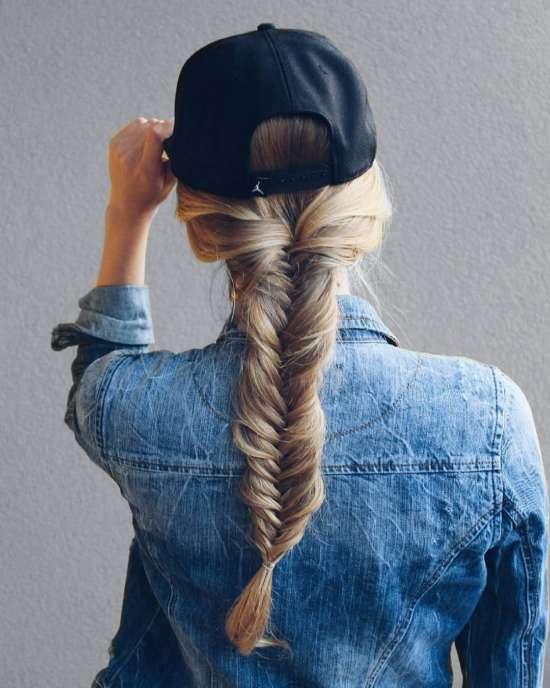 Celebrity-Inspired Cute Baseball Cap Hairstyles