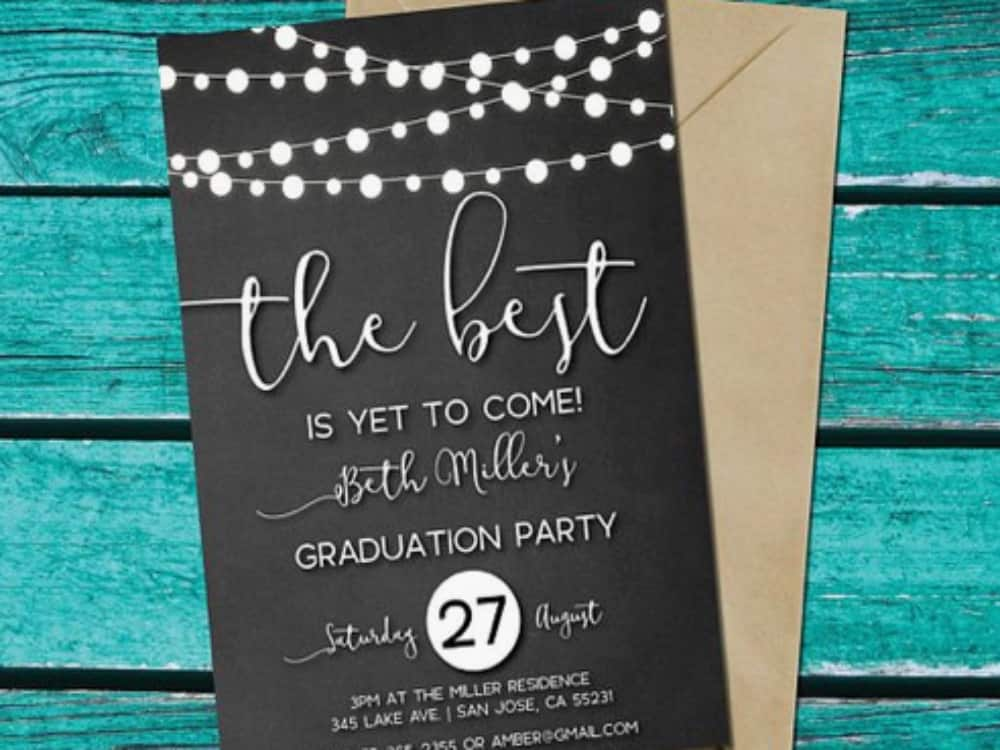 10 Adorable Graduation Party Invitations You Need To Send Out