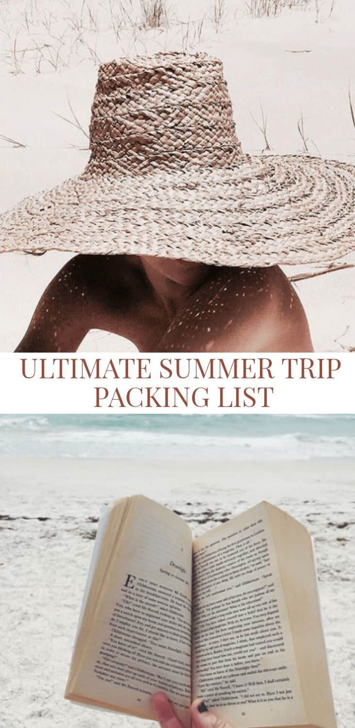 Here's The Ultimate Packing List For Your Summer Trip