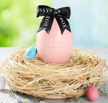Instead of giving you candy, the GlossyBox Easter Egg Box will treat you with premium beauty products worth over $120 - subscribe now!