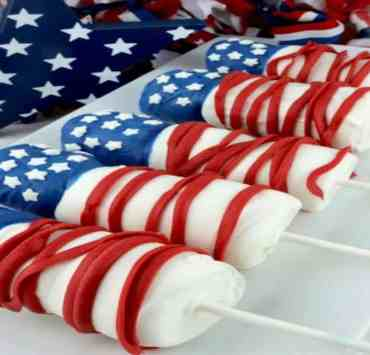Red, White, And Blue DIY Memorial Day Food Ideas