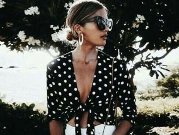 5 Polkadot Outfits That Prove Spots Are All The Rage Right Now