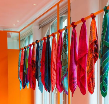The Cutest Ways To Style Silk Scarves