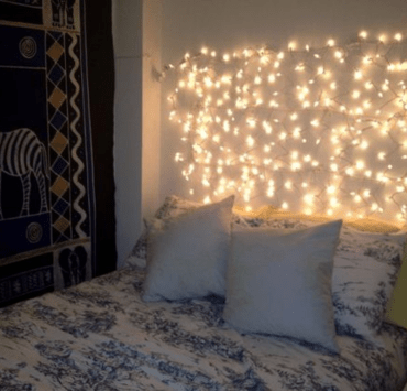 8 Ways To Decorate A Bed Headboard For Your Dorm Room