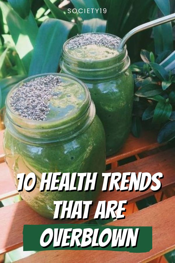 10 Health Trends That Are Overblown
