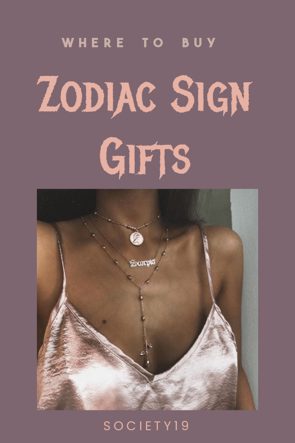 Where To Buy Zodiac Sign Gifts