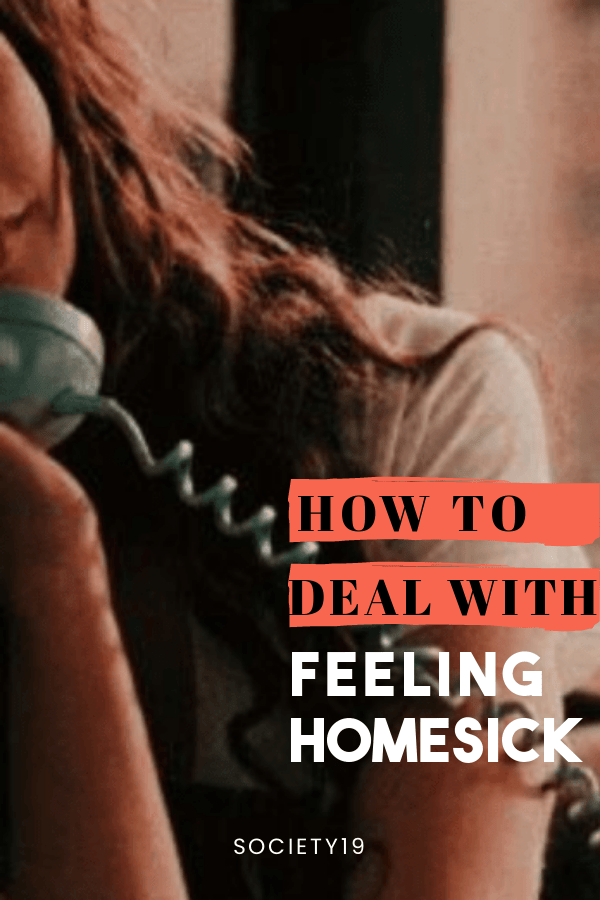 How To Deal With Feeling Homesick