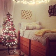 decoration ideas, 10 Decoration Ideas For Your Dorm For The Holidays