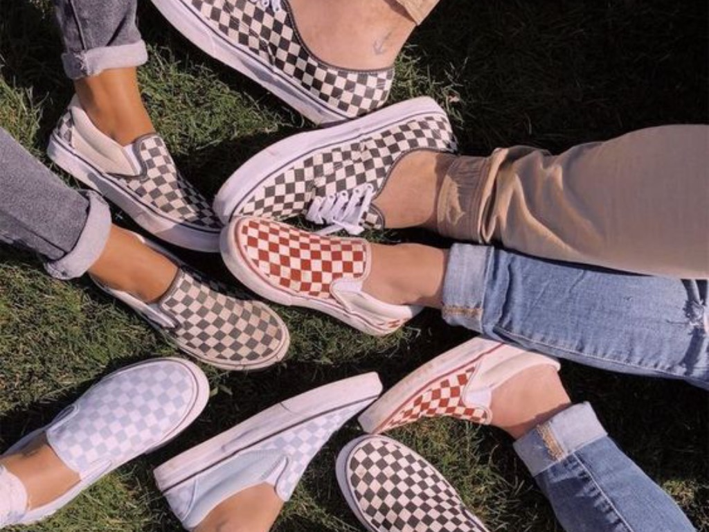 outfits with slip on vans