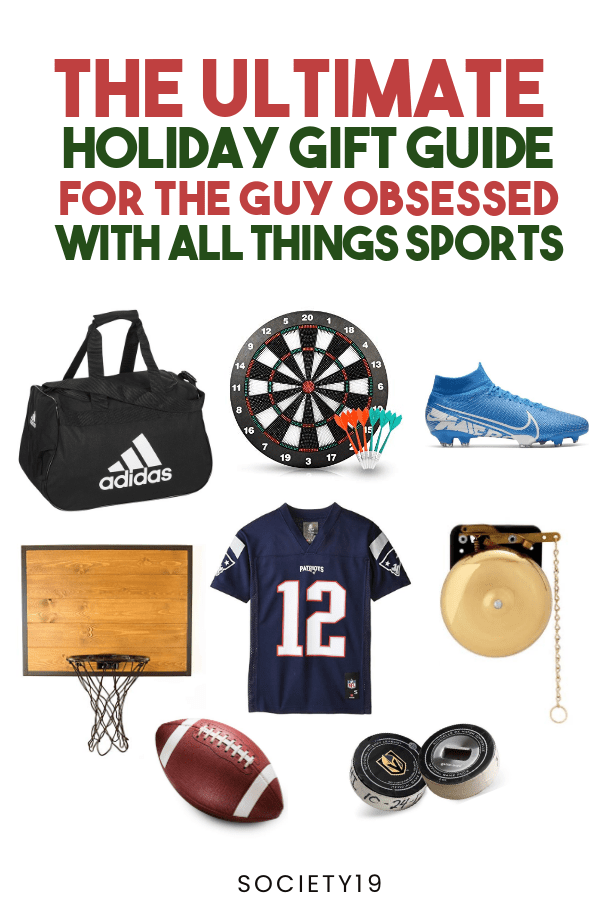 sports, The Ultimate Holiday Gift Guide For The Guy Obsessed With All Things Sports