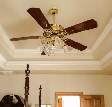 10 Creative Ways To Decorate Your Ceiling Fan