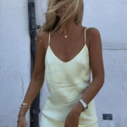 Sexy Sheer Slip Dress Trends For Summer 2020