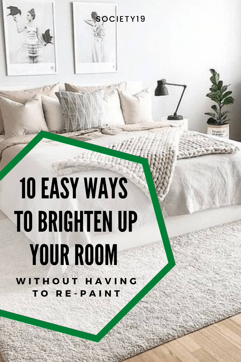 10 Easy Ways To Brighten Up Your Room Without Having To Re-Paint