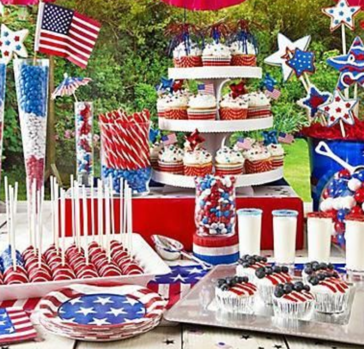 Flag Cake Ideas, 12 Fourth of July Flag Cake Ideas To Copy This Year
