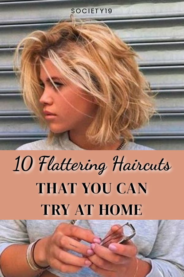 10 Flattering Haircuts That You Can Try At Home