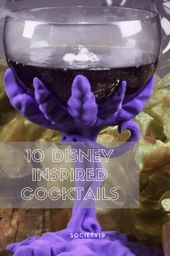 10 Disney Inspired Cocktails