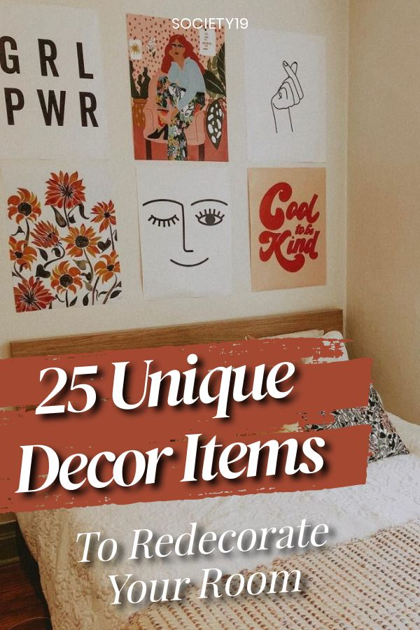 25 Unique Decor Items To Redecorate Your Room