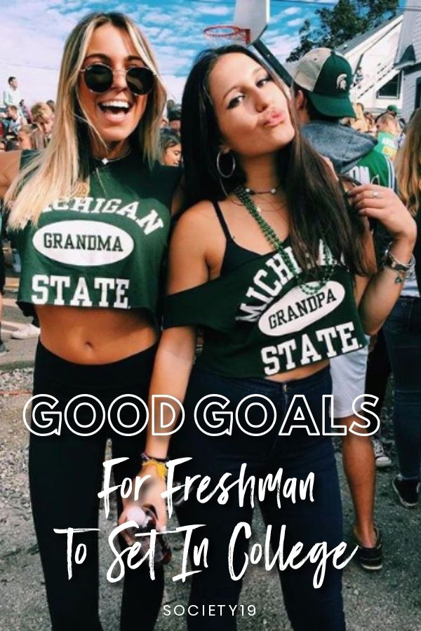 Good College Goal, Good Goals For Freshman To Set In College