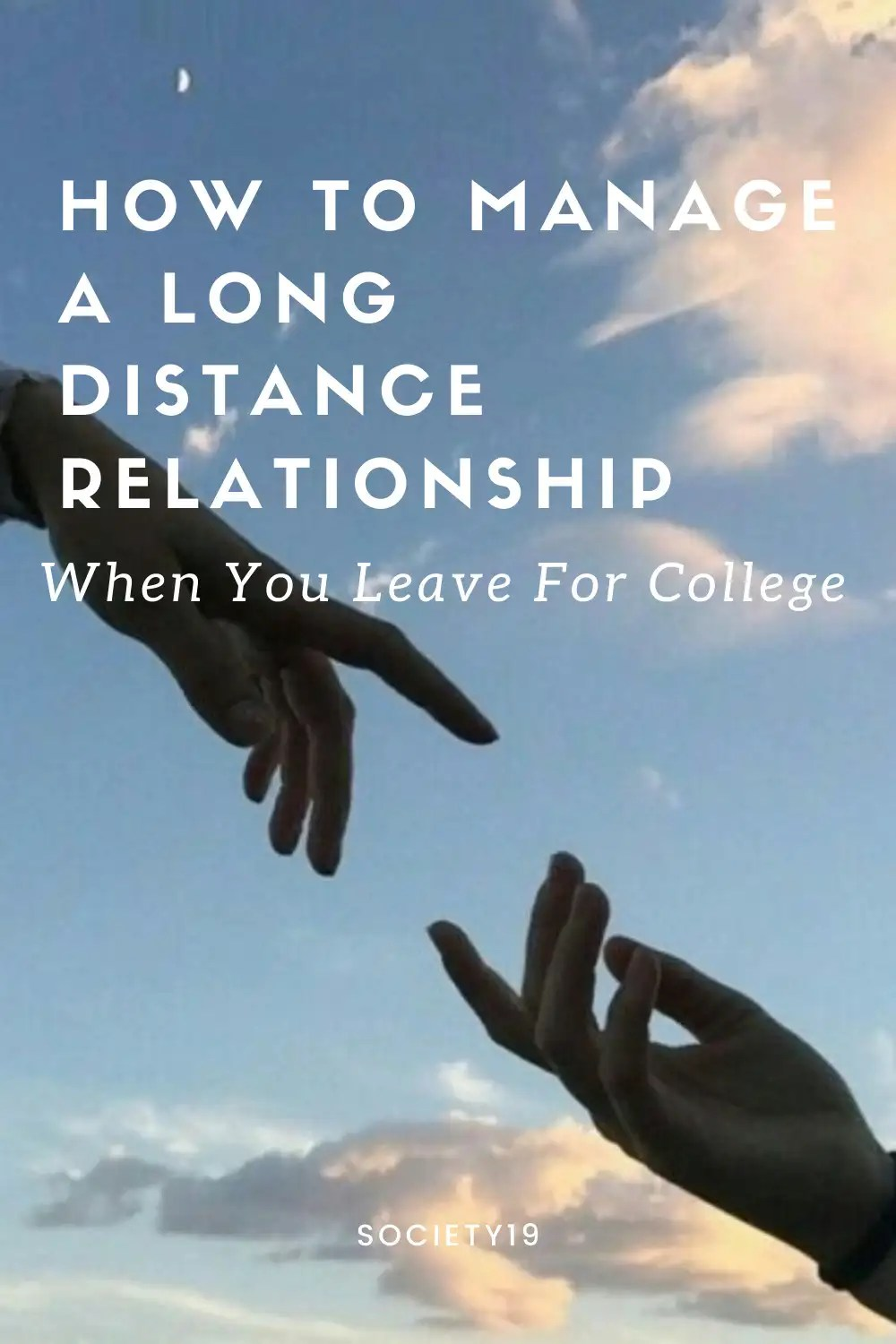 How To Manage A Long Distance Relationship When You Leave For College