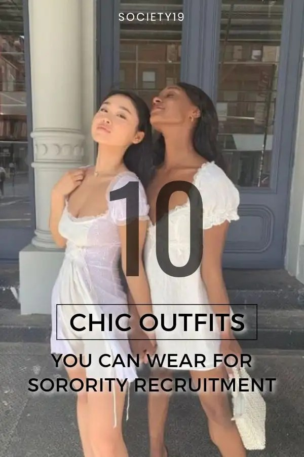Chic Outfits, 10 Chic Outfits You Can Wear For Sorority Recruitment