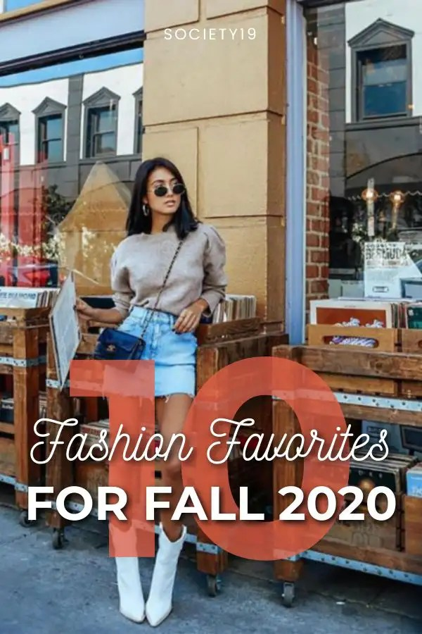 10 Fashion Favorites For Fall 2020