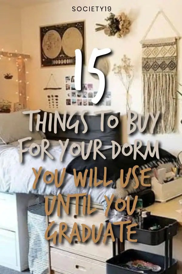 15 Things To Buy For Your Dorm You Will Use Until You Graduate