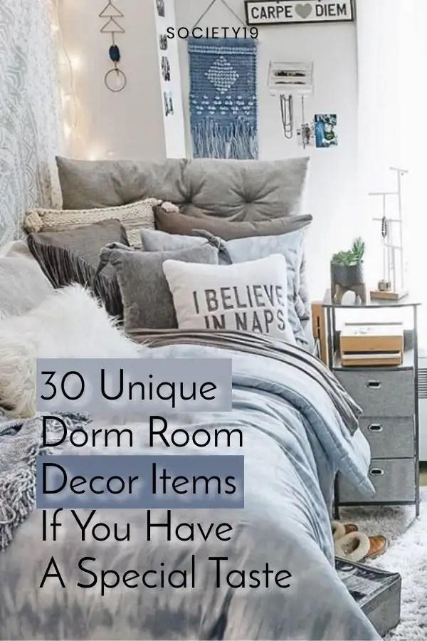 Dorm Room Decor, 30 Unique Dorm Room Decor Items If You Have A Special Taste